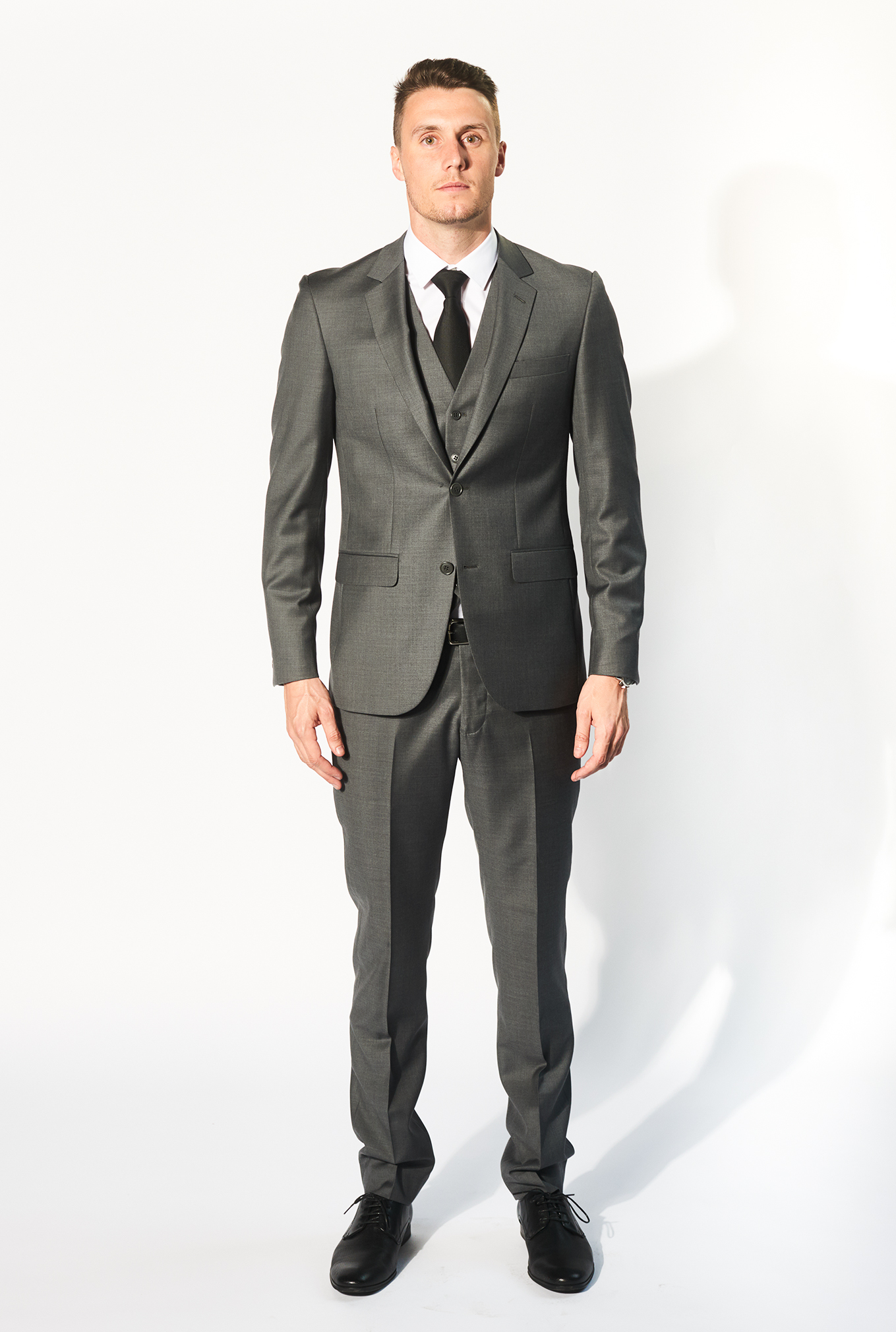 The Daniel grey suit for hire or sale