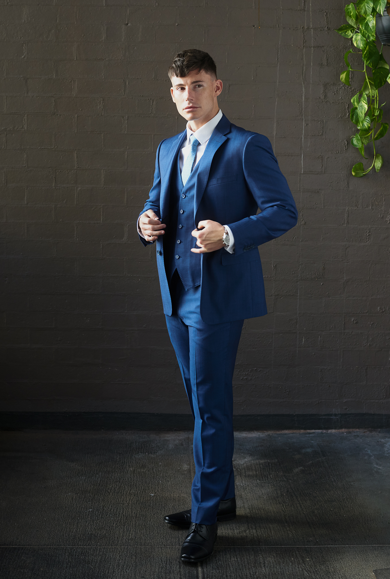 The Marine blue suit for hire or sale
