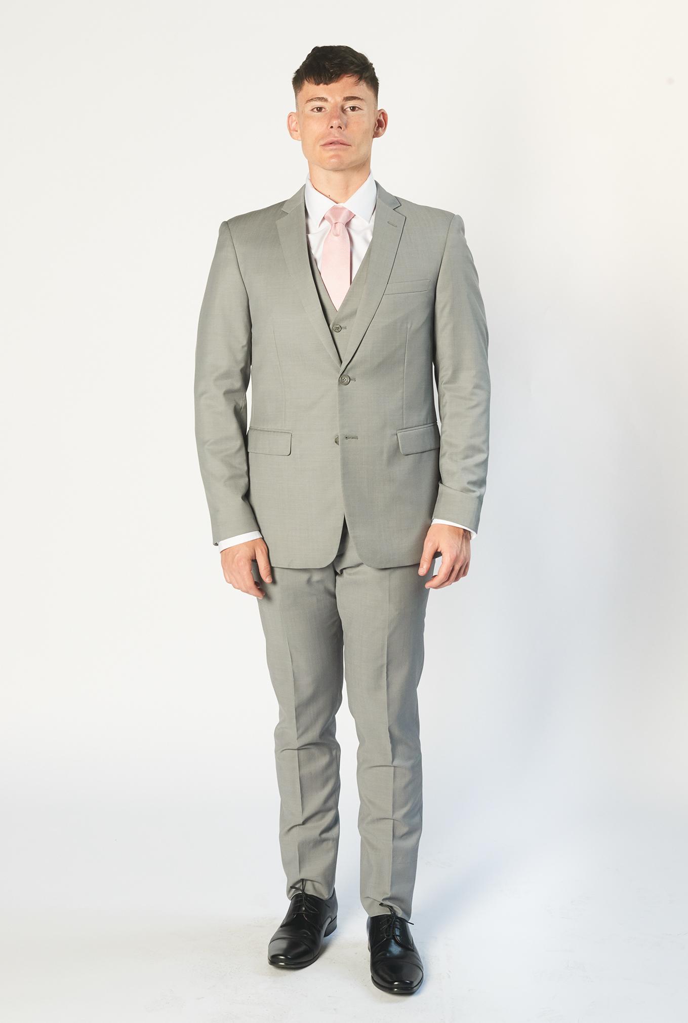The Jet light grey suit