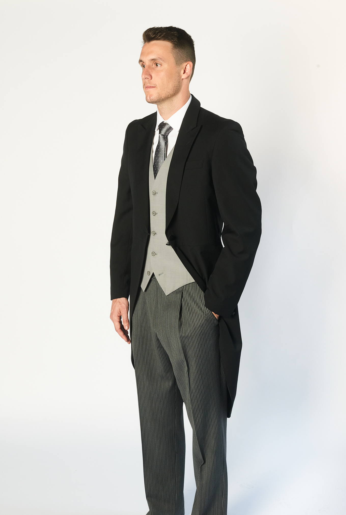 The Morning Suit side view