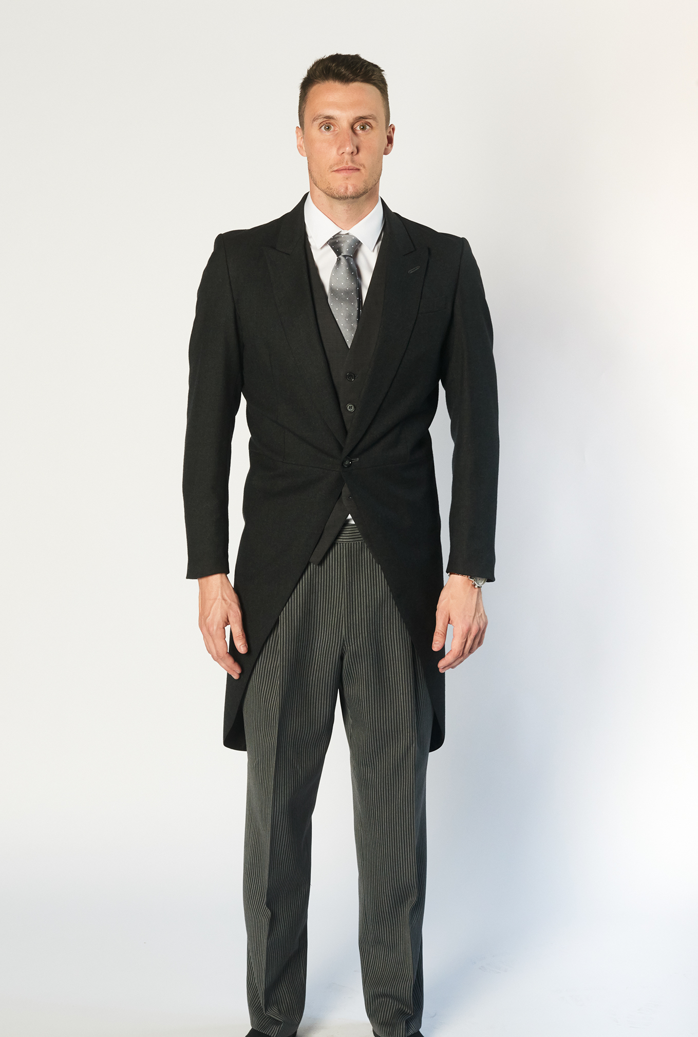 The Morning Suit with black jacket