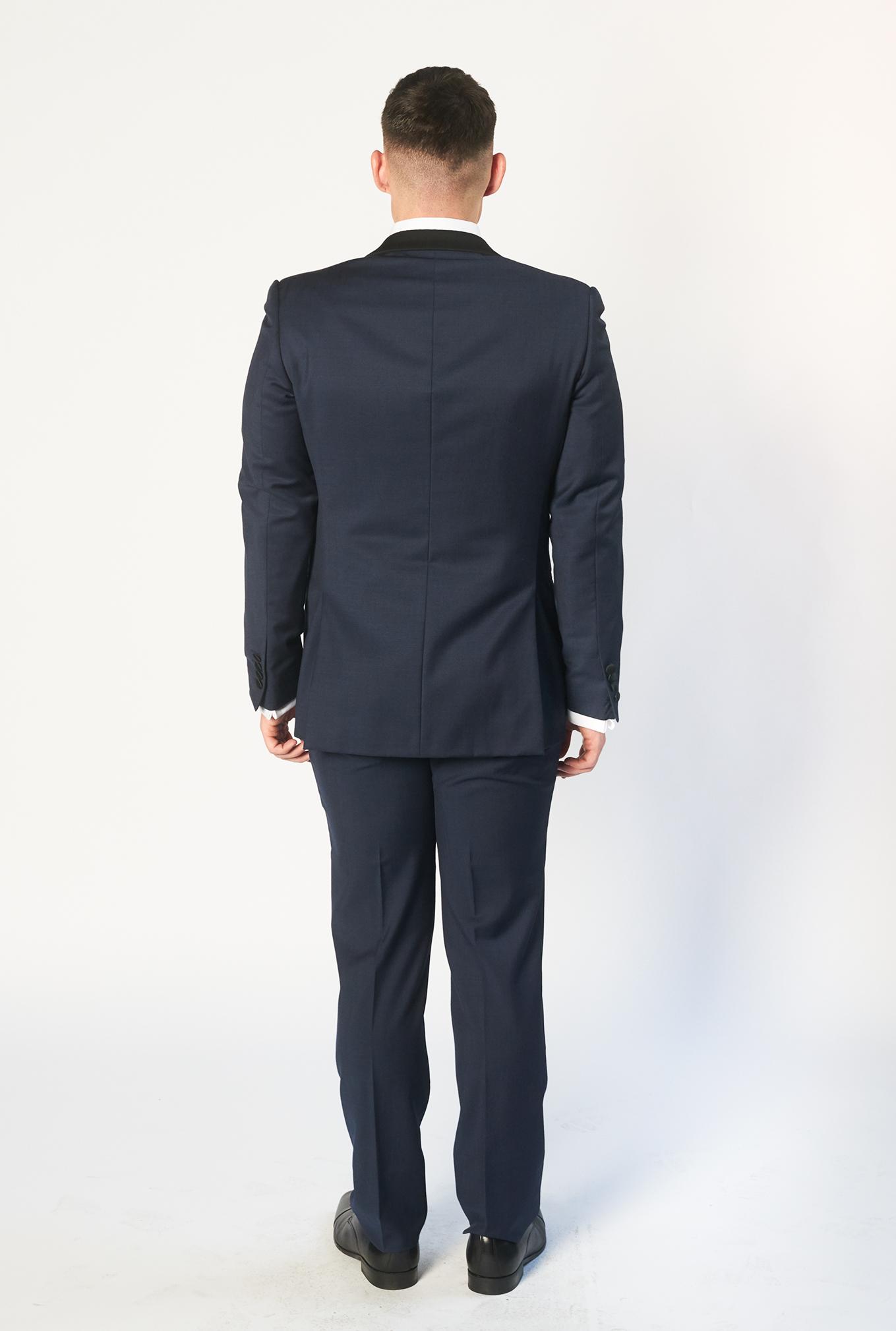 The Bond tuxedo back view
