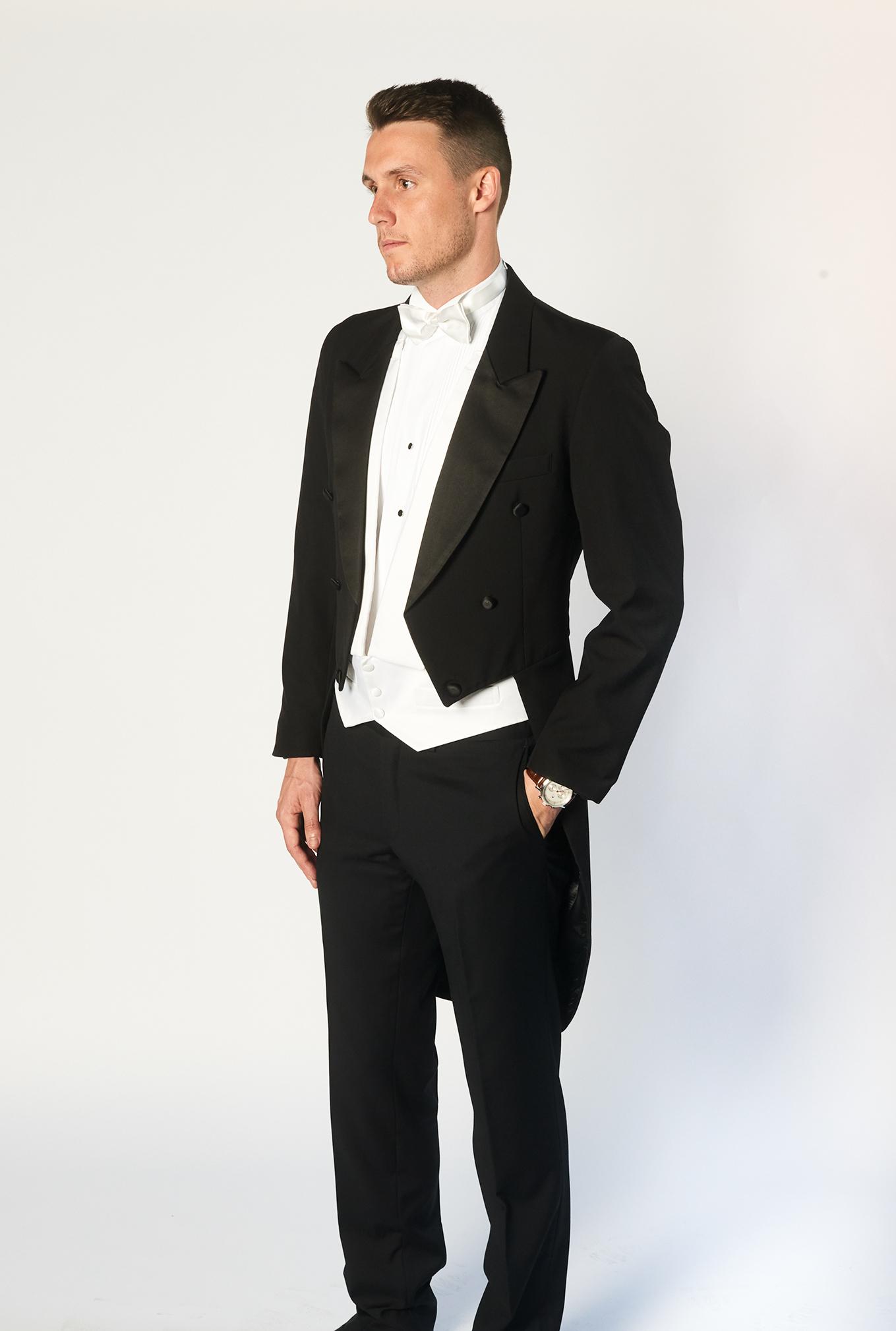 The Tails black suit